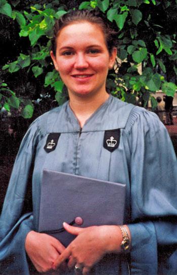 Andrea's college graduation.