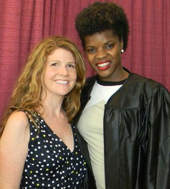 Brooke's college graduation